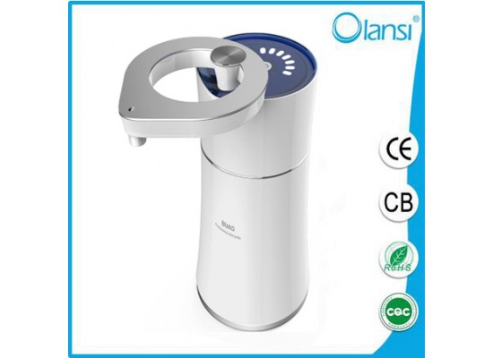 2017  OLS-D01  Portable water purifier dispenser ,alkaline water ionizer